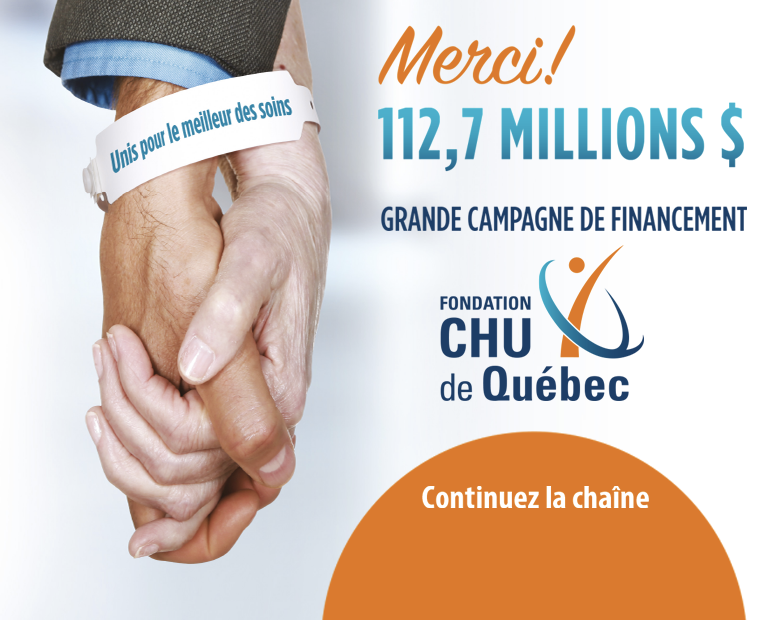 Fondation du CHUQ merci